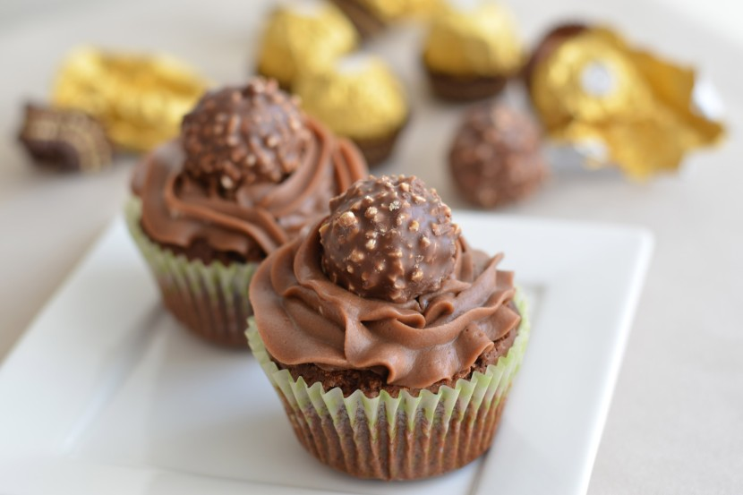 Photo Cupcakes aux Ferrero Rochers®
