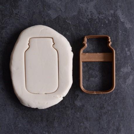 Emporte-pièce en forme de Bocal à Cookies