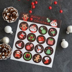 Christmas stickers for Candy bags