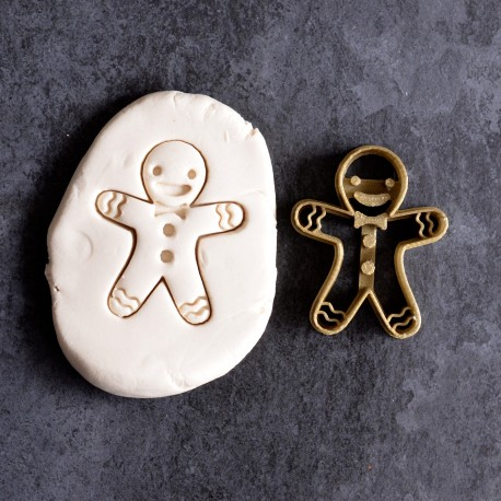 Emporte-pièce Bonhomme de pain d'épices - Gingerbread man