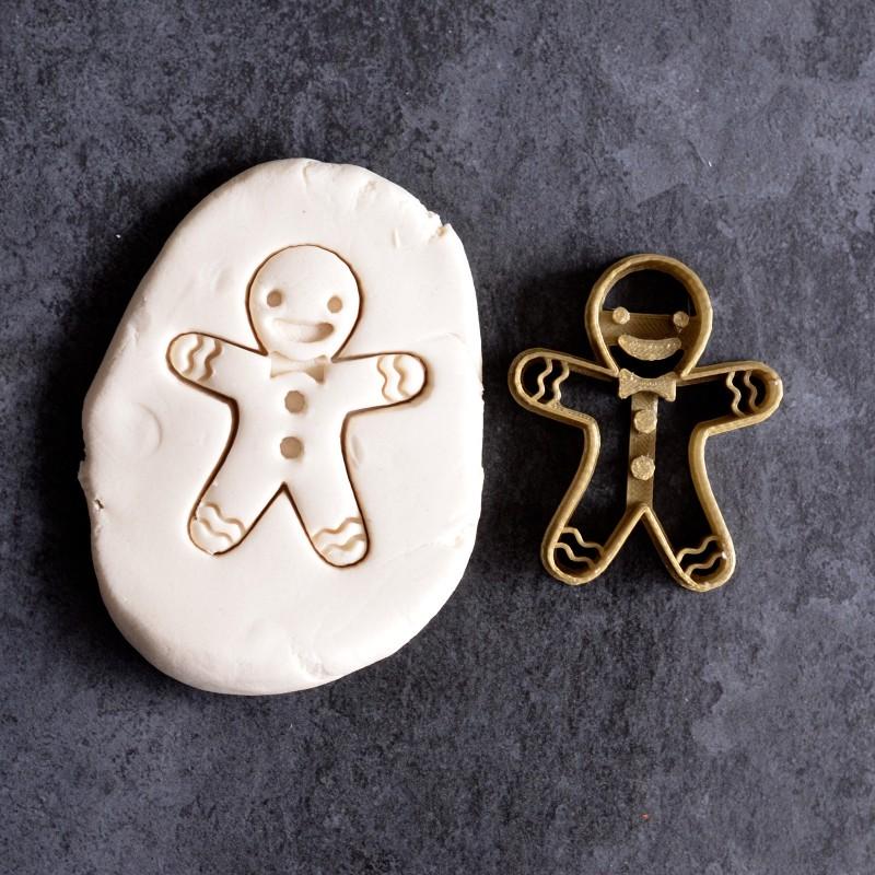 Emporte Piece Bonhomme De Pain D Epices Gingerbread Man La Boite
