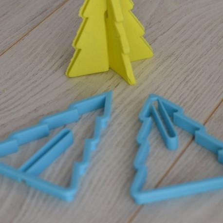 Emporte-pièce Sapin de Noël 3D