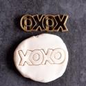 XOXO love cookie cutter