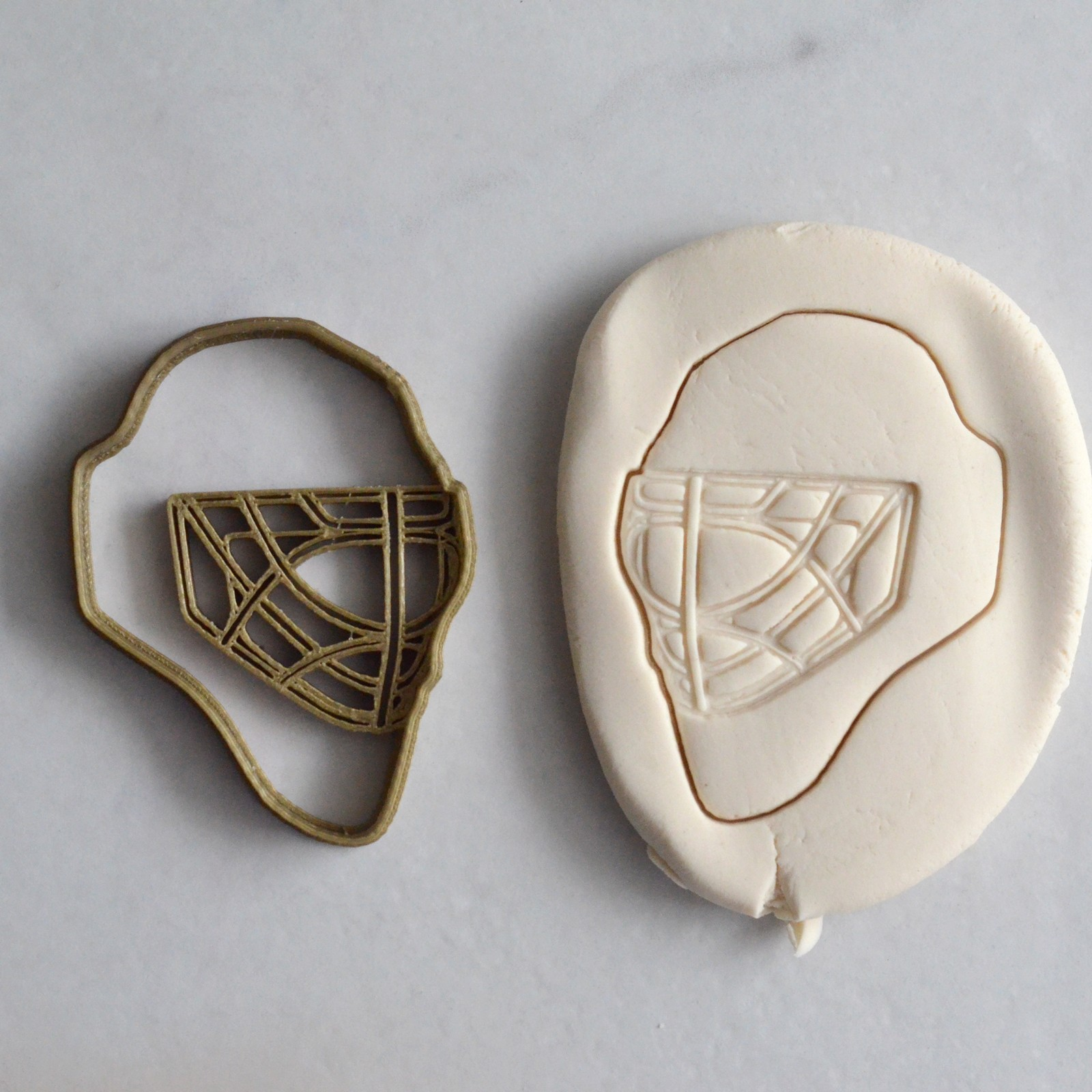 Hockey Goalie Mask Cookie Cutter La Boite A Cookies