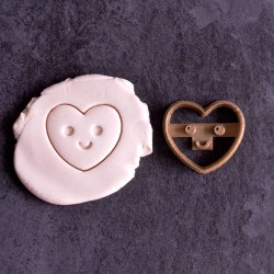 Kawaii Heart cookie cutter - XS