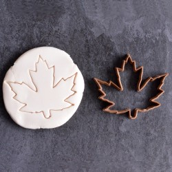 Maple leaf cookie cutter