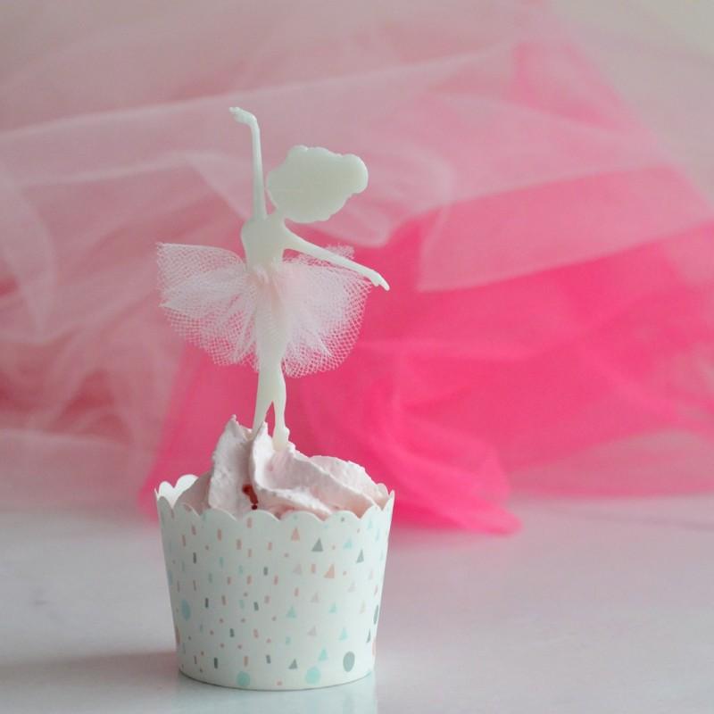 Ballerina Cake Topper - Dance Cupcake Topper - La Boîte à ...