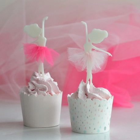 Ballerina Cake Topper - Dance Cupcake Topper