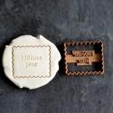 """Petit Beurre """"100ème jour"""" cookie cutter"""