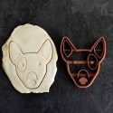 Bull Terrier cookie cutter