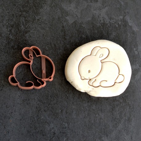 Cute Rabbit cookie cutter