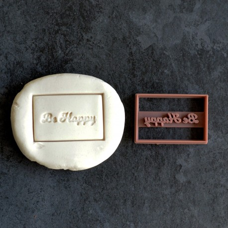Emporte-pièce Be Happy