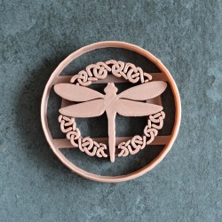 Celtic dragonfly cookie cutter