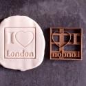 I Love London cookie cutter
