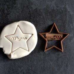 Maman Star cookie cutter