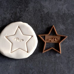 Maman Star cookie cutter