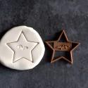 Papa Star cookie cutter