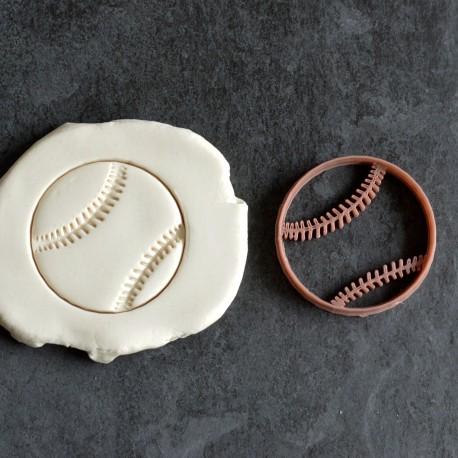 Baseball Cookie cutter