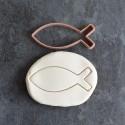 Ichtus Fish cookie cutter
