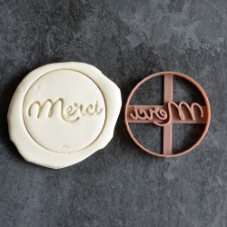 Merci cookie cutter - Circle