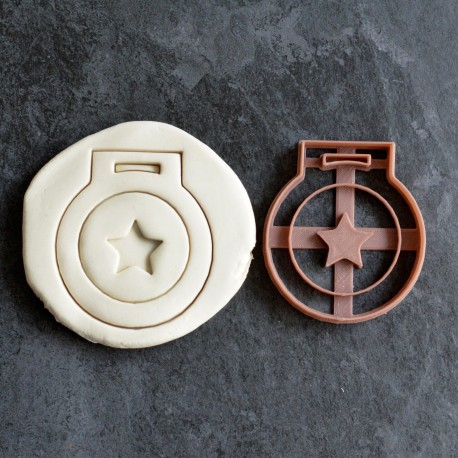 Star Medal cookie cutter