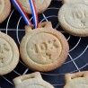 10K Medal cookie cutter