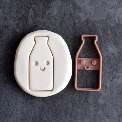 Kawaii Bottle cookie cutter