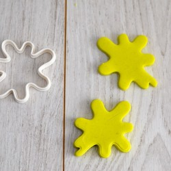 Ink Spot cookie cutter