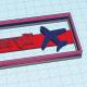 Custom Air plane cookie cutter