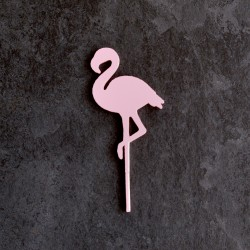 Flamingo Cake Topper - Cupcake Topper