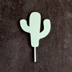 Décoration de gâteau Cactus - Cupcake Topper
