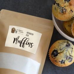 Préparation pour muffins et cupcakes