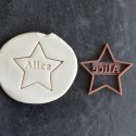 Star custom cookie cutter Name - Personalized