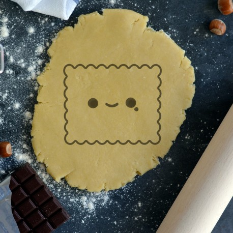 Kawaii Petit Beurre cookie cutter