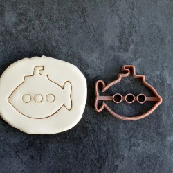 Sub-Marine cookie cutter