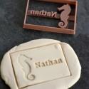 Custom sea horse cookie cutter