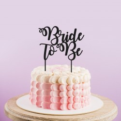 Bride To Be Cake Topper Letters Wedding Cake Topper La Boite A