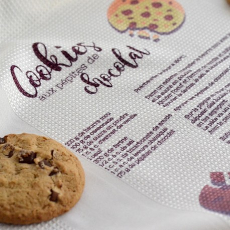 Torchon de cuisine recette de Cookies