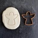 Angel cookie cutter