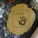 Custom Baby Hand cookie cutter with Name