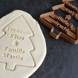 Custom Christmas Tree cookie cutter