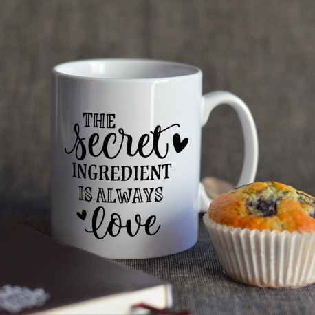 Scret ingredient is love Mug