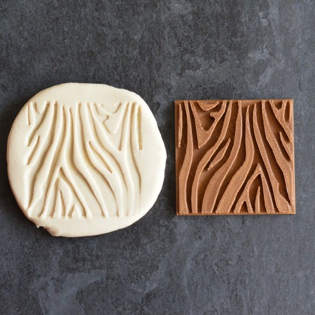 Tampon à biscuit Zèbre