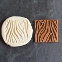 Zebra cookie stamp
