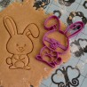 Funny Rabbit cookie cutter