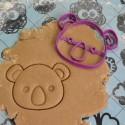 Koala cookie cutter