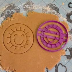 Emporte-pièce Soleil et cercle