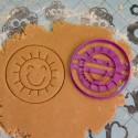 Circle Sun cookie cutter