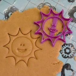 Smiling Sun cookie cutter