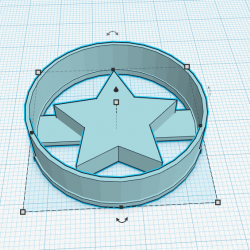 Rounded Star cookie cutter